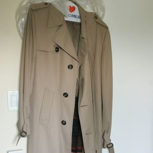 Other - Cumberland Trench Coat with Belt and Wool Vest